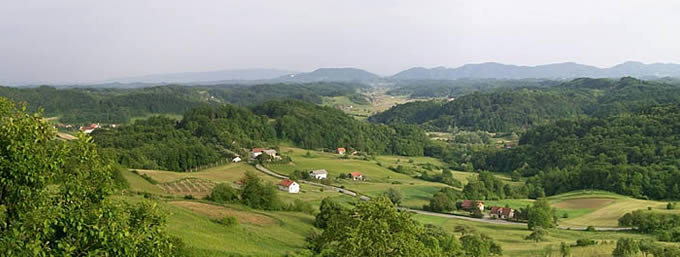 View from Veliki Tabor